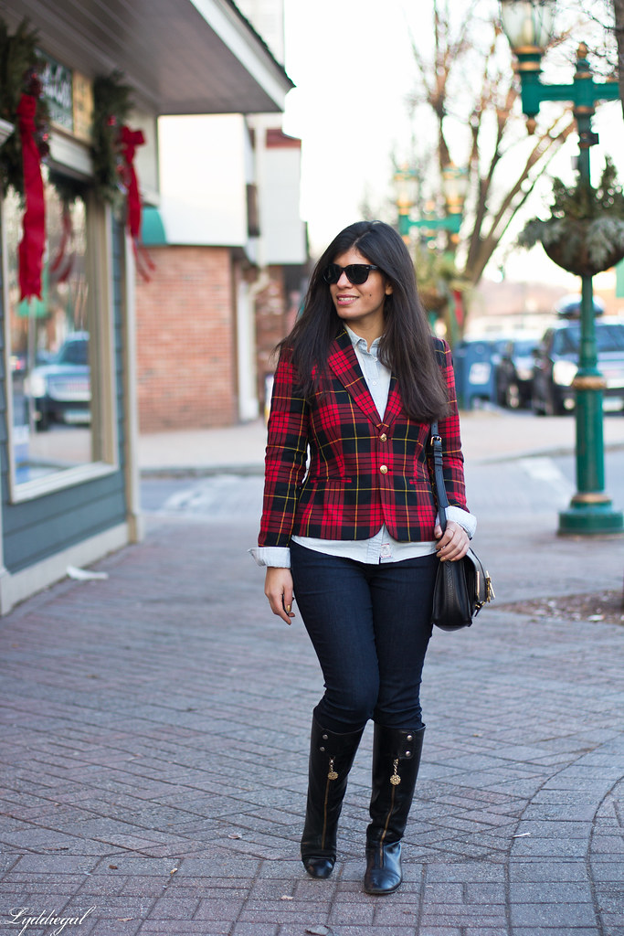 Double Denim, Plaid Blazer-3.jpg