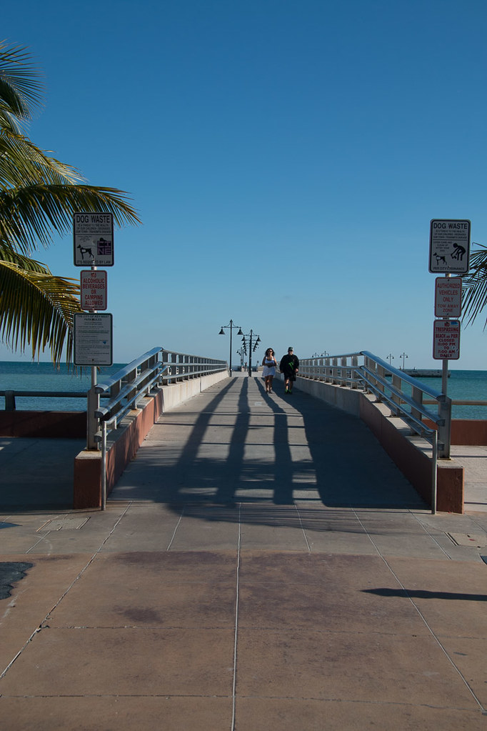 White Street Pier in Key West