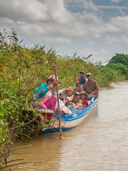 Cambodia : slow boat to Siem Reap #9