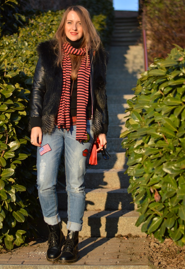 rock, l'heartelier, gucci, disco bag, wildflower girl, Dr. Martens, look, fashion blog (23)