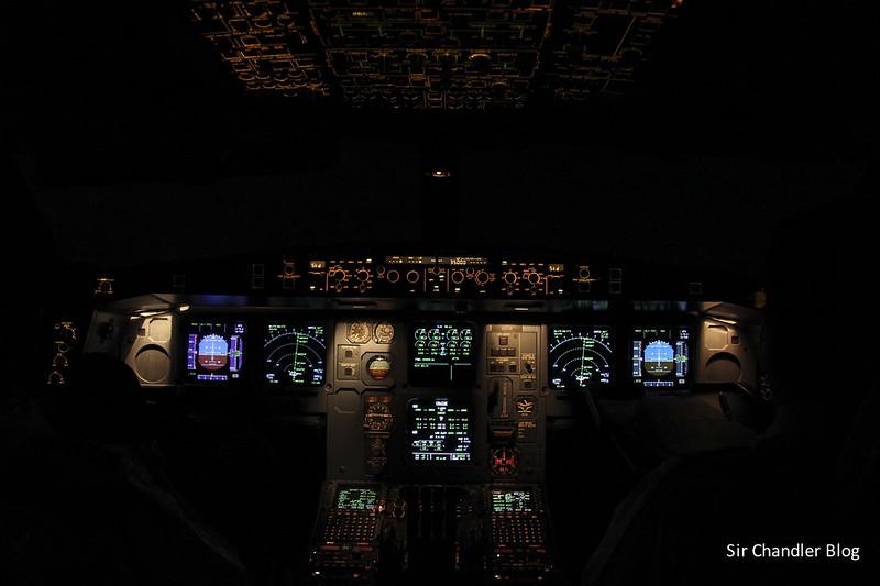 Cockpit Airbus 340 LV-CEK
