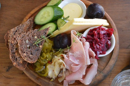 Ploughman's plate