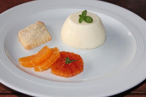 Zitronen - Panna Cotta