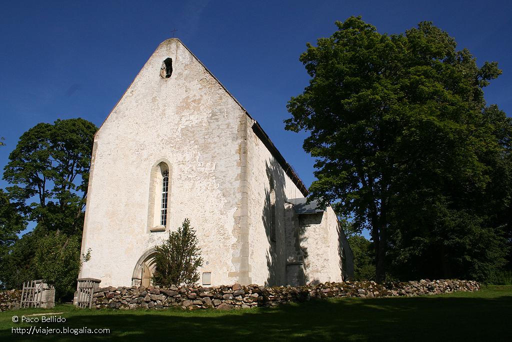 Iglesia de Karja. © Paco Bellido. 2005
