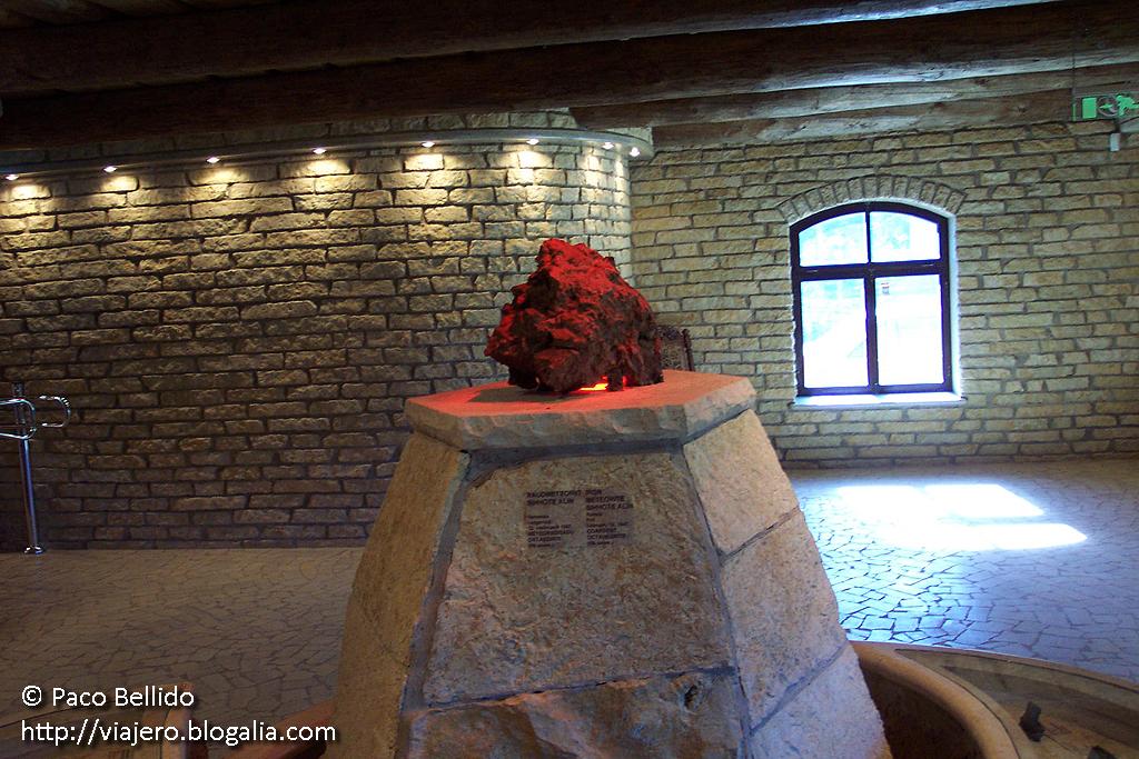 Museo de Meteoritos. © Paco Bellido, 2005