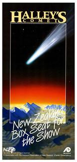 'Comet Tours' - Halley's Comet brochure - Tourist and Publicity Department - 1986