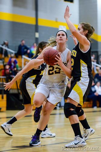 Girls High School Basketball - Jonathan Law vs Hand
