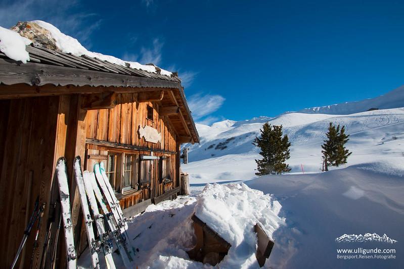 Unsre Berghütte