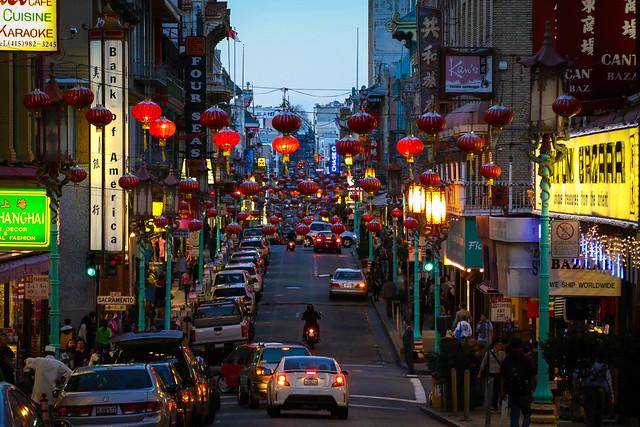 San Francisco. Chinatown