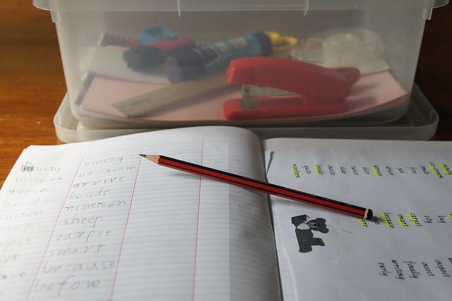 managing homework materials DSC03410