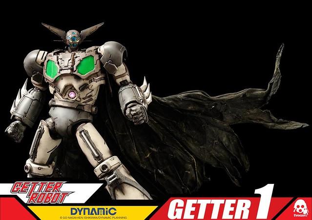 練習用試作型號!threeZero 《蓋特機器人》 – 蓋特1號「練習機」配色 ゲッター1「練習機」カラー