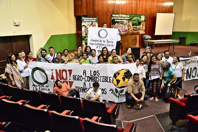 Encontro de Movimentos Sociais e Organizações de Honduras com ATALC