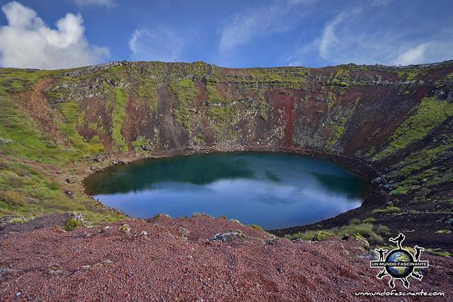 ISLANDIA - Cráter Kerið