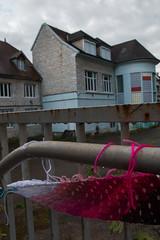 Yarn bombing Besançon 24