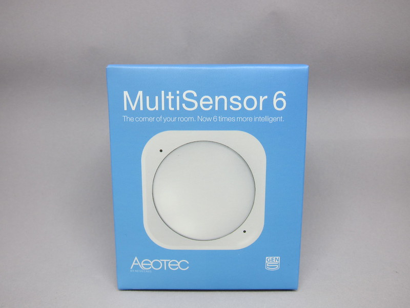 Aeon Labs Aeotec Z-Wave MultiSensor 6 (Gen5) - Box Front