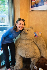 Who CANT resist taking a photo with Truffles the Bear?