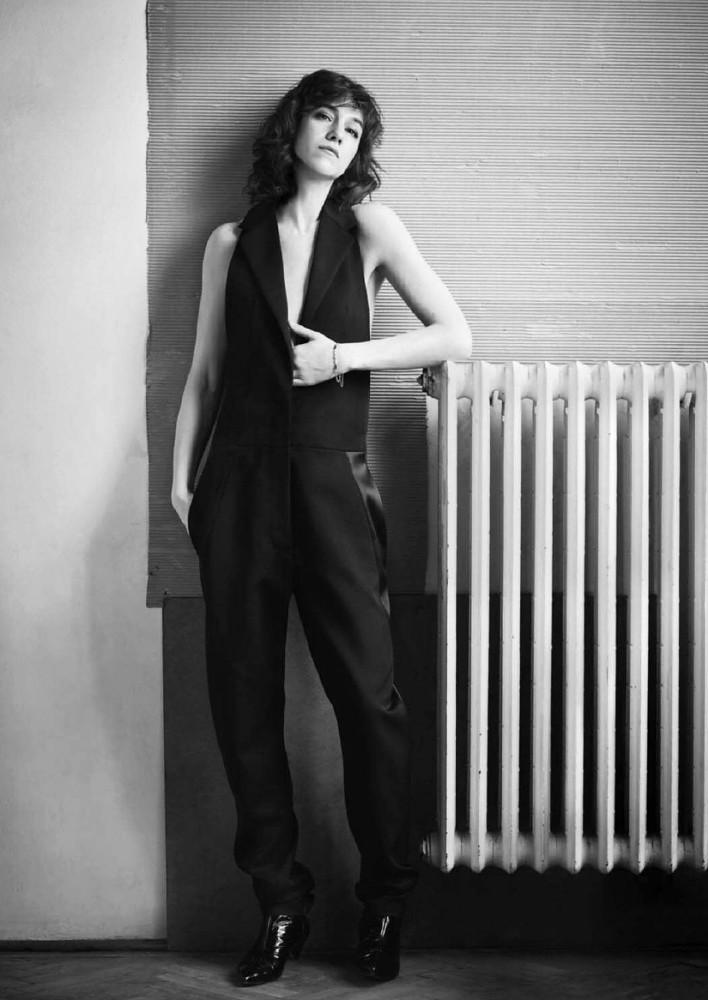 Шарлотта Генсбур — Фотосессия для «InStyle» 2016 – 1
