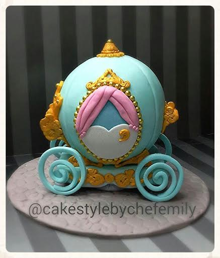 Cinderalla Carriage Cake by Emily Peralta