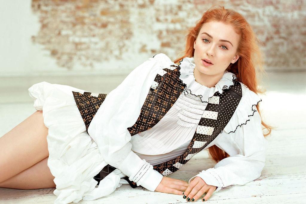 Софи Тёрнер — Фотосессия для «Glamour» UK 2016 – 1