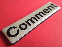 Comment blog button - Please credit by linking to http://www.reviewconnection.co.uk