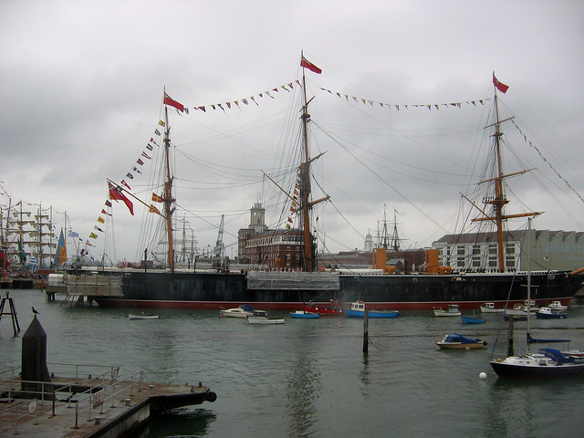 HMS Warrior at Portsmouth