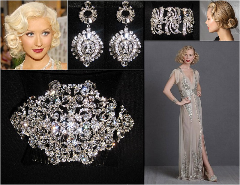 Bridal Styles Great Gatsby Inspiration - Socialite