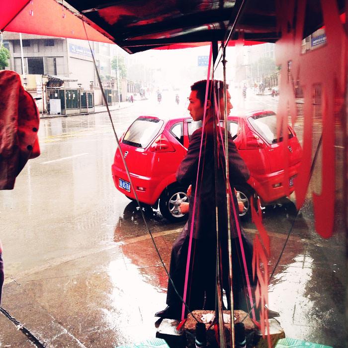 Guiyang raining