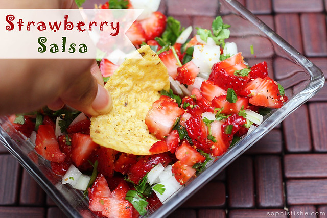 Strawberry Fruit Salsa