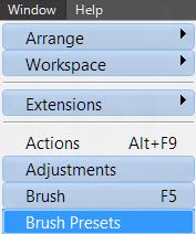 Как установить кисти (brushes) в Фотошоп