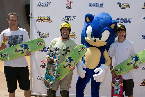 Sonic Generations of Skate 2013