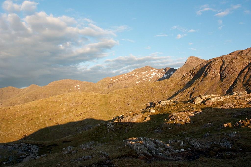 Evening sun on Cruachan