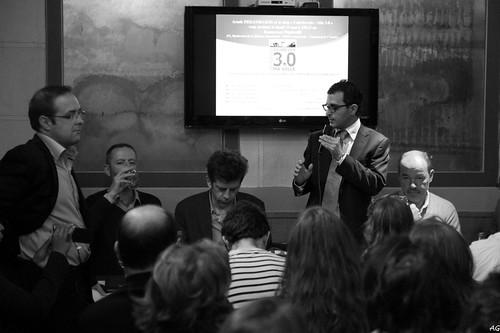 Réunion Courbevoie 3.0 avec Arash Derambarsh, Christophe Ginisty, Christophe Grébert, Jean-Philippe Elie, David Lacombled, Stéphane Boukris  by Arash Derambarsh