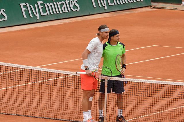 Rafael Nadal and David Ferrer
