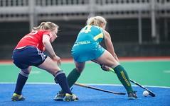 International Women's Hockey - England v Australia - Training Match 16th June 2013