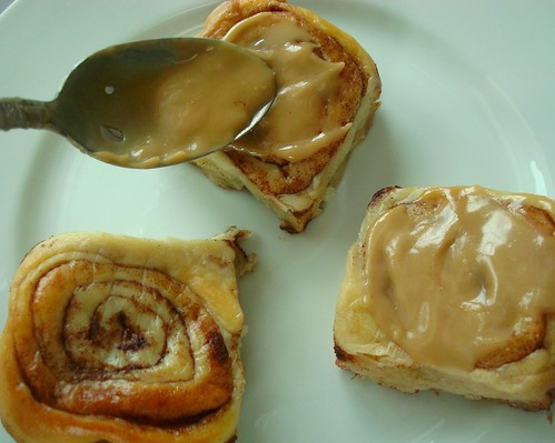 Cinnamon Rolls for dinner