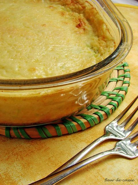пудинг-суфле из кабачков 2