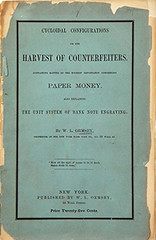 Ormsby Harvest of Counterfeiters
