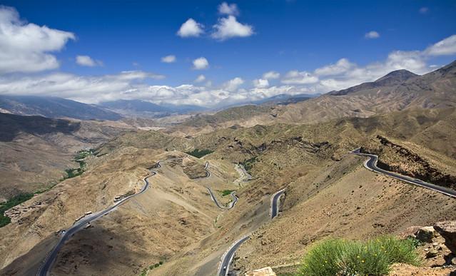 Atlas Marroquí, carreteras