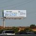Banner MD Anderson Center billboard - Santan Freeway Loop 202, Chandler, AZ