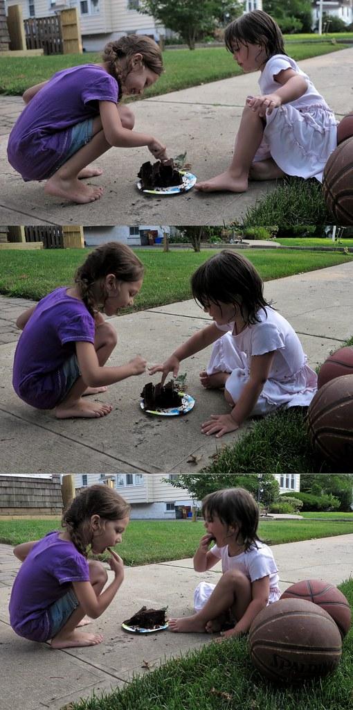 Cake Walk Triptych