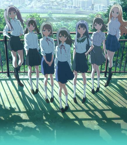 130729(4) -「山本寛監督×幸運星團隊」新動畫《Wake Up,Girls!》發表7人聲優、預定2014年新春公開!