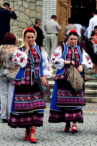 Celebración religiosa en Yaremche