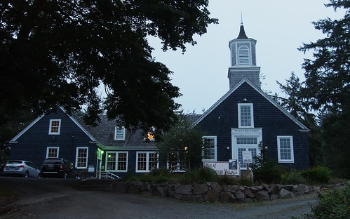 old schoolhouse, now an Inn