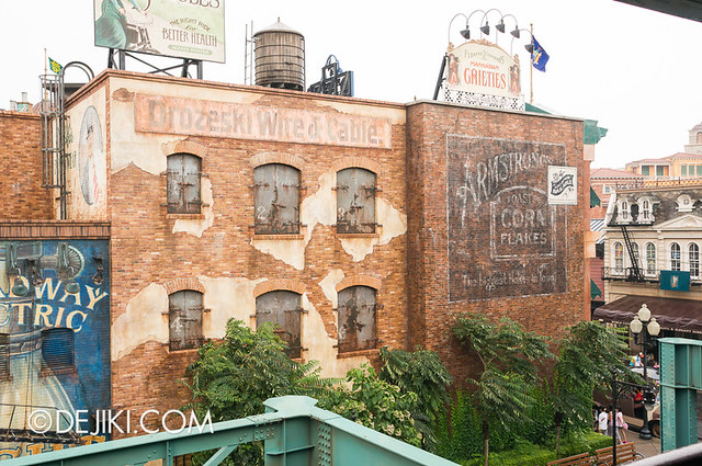 American Waterfront - Disneysea Electric Railway - Declancey Street view 5
