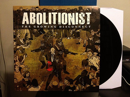 Abolitionist - The Growing Disconnect LP by Tim PopKid