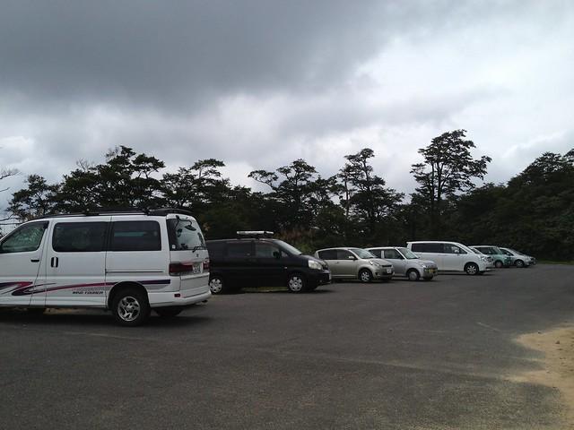 冠山峠 駐車場