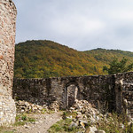 Ruins of XII century castle in Rytro