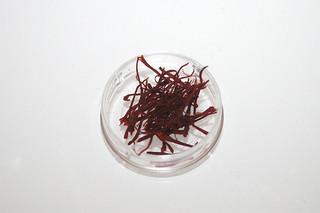 10 - Zutat Safran / Ingredient saffron