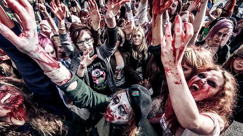 Stockholm Zombie Walk 2013