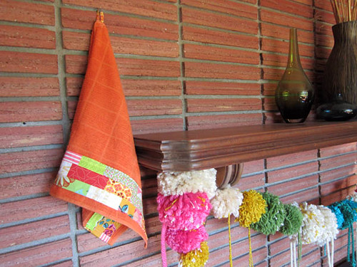 patchwork towels